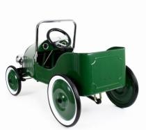 voiture-metal-pedale-classic-verte