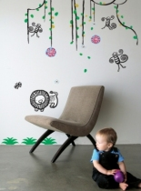 Sticker-jungle-mur-chambre-enfant-wee-gallery