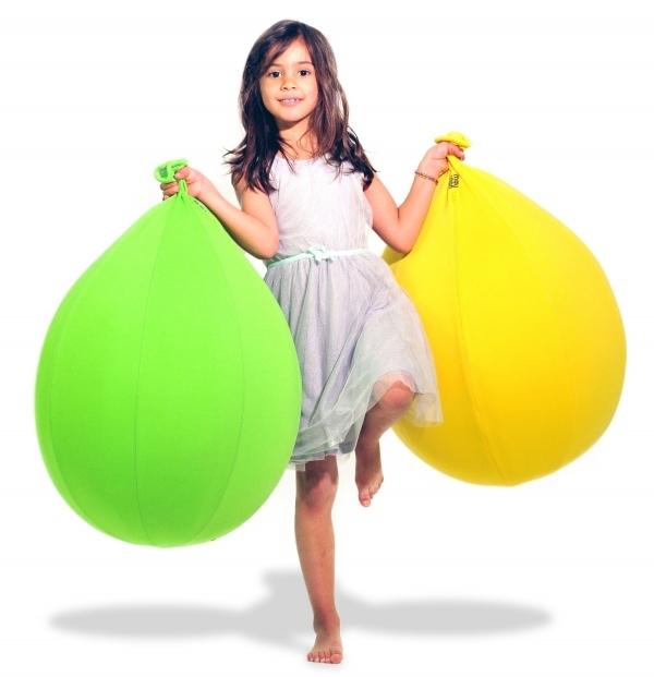 Pouf-mobilier-design-enfant-jaune-vert